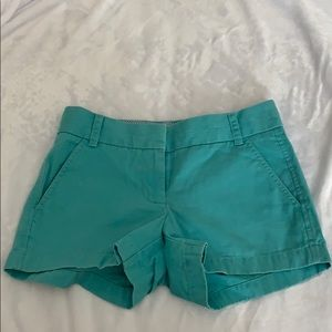 "Blue J Crew Chino Shorts 3"" Size 00"